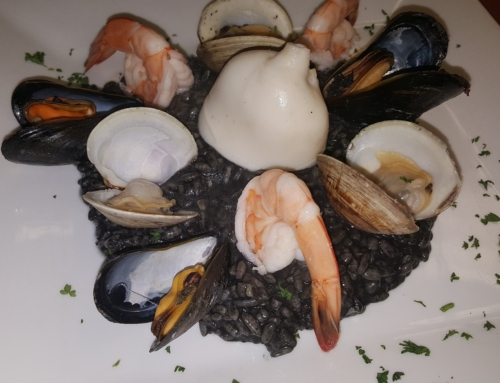 Black Seafood Rissotto