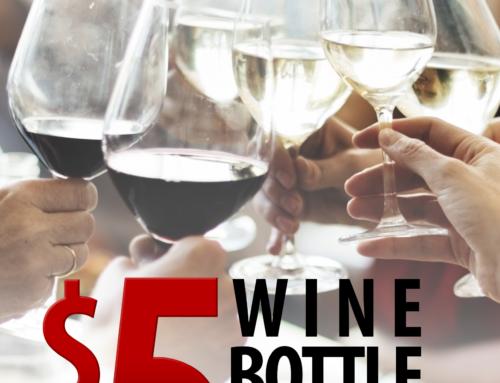 Fridays are Cinque Night-$5 Wine Bottle