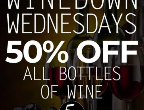 Wine Down Wednesday at Cinque Terre Italian Restaurant in Davie.